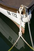 Fishing boat in Bakar Stock Photos