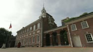 Stock Video Footage of Independence Hall Philadelphia