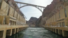 Hoover Dam Beauty Shots - stock footage