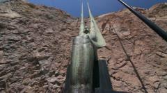 Hoover Dam Beauty Shots - stock footage