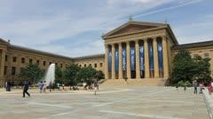 Philadelphia Museum of Art Stock Footage