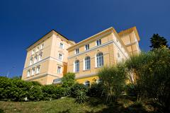 Old hotel Thalassotherapia in Crikvenica Stock Photos