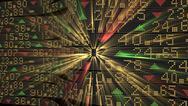 Stock Illustration of Stock market tickers