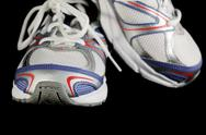 Stock Photo of athletic shoes