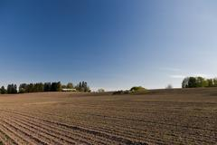 Stock Photo of dry farmland