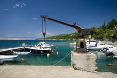 Stock Photo of Boats in Jadranovo