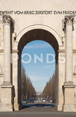 Stock photo of siegestor