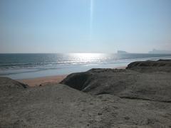 Gwadar Beach Golden Sands, Pakistan Stock Photos