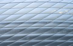 Modern abstract architecture Stock Photos
