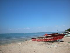 Gwadar Beach Silver Sands, Pakistan Stock Photos