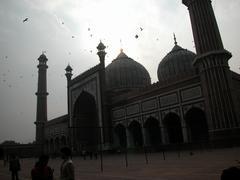 Badshahi mosque India Delhi Stock Photos