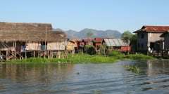 Inle Lake Stock Footage
