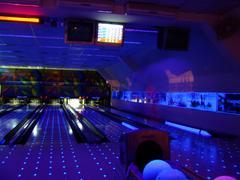 Long shutter shot of bowling Stock Photos
