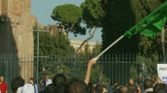 Rome demonstration,  film, Innocence of Muslims (16) Stock Footage