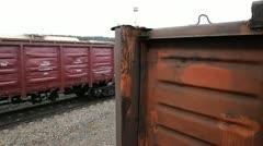 Railway cargo 26 Stock Footage