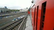 Railway cargo 28 Stock Footage