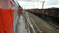 Railway cargo 29 Stock Footage