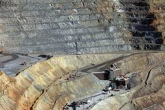 Kennecott mine ore crusher Stock Photos