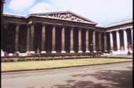 The British Museum in London, England, 1976. Stock Footage