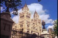 The Natural History Museum in London, England, 1976 Stock Footage