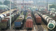 Railway cargo 38 Stock Footage