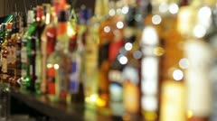 Alcohol VIP - stock footage