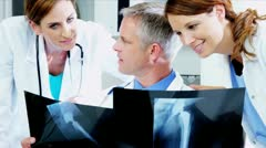 Patient X-Ray Consultation  Stock Footage