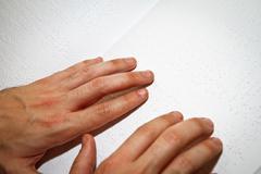 Braille reading Stock Photos