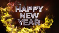 Happy New Year 2 - stock illustration