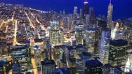 Stock Video Footage of Chicago Skyline