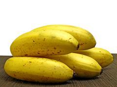 ripe banana - stock photo