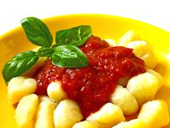 gnocci - stock photo