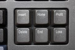 Profit & loss Stock Photos