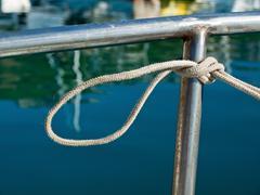 Stock Photo of Marine kont detail on sailing boat