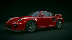 Porsche carrera GT2 RS final Stock Footage