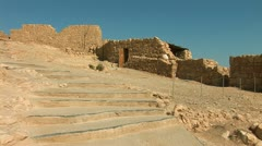 Masada stage Stock Footage