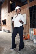 Lovely female construction admin (3) Stock Photos
