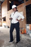 Lovely female construction admin (4) Stock Photos
