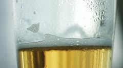 Beer pouring 9 Stock Footage