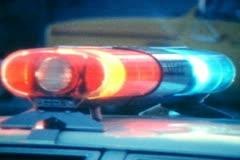 Vintage Police Lights - stock footage