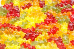 Gummy bears Stock Photos