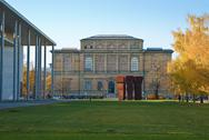 Stock Photo of old pinakothek and modern pinakothek