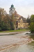 volksbad - stock photo
