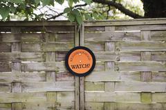 neighbourhood watch sign - stock photo
