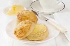 cheese scones - stock photo