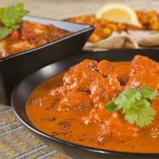 Stock Photo of rogan josh indian curry