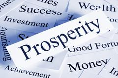 Prosperity concept Stock Photos