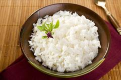 jasmine rice - stock photo