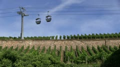 Germany - Ruedesheim - Cable Car Stock Footage