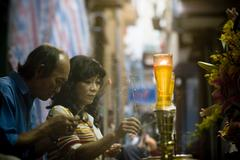 Saigon in Vietnam. Vietnamese culture,sanctuary,funeral. Stock Photos